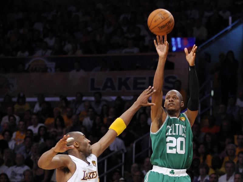14 ray allen - 15 самых высокооплачиваемых игроков в истории NBA