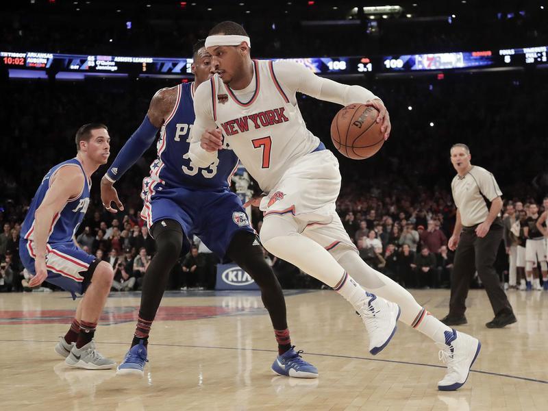 7 carmelo anthony - 15 самых высокооплачиваемых игроков в истории NBA