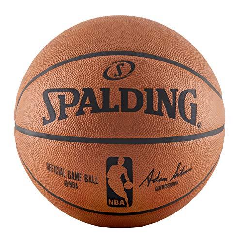 spalding nba - 5 лучших мячей для игры в зале.
